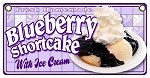 Blueberry Shortcake w Ice cream