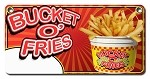 Bucket o' fries w/price bubble