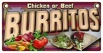 Burritos Chicken or Beef