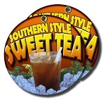 Iced Tea Southern Style yellow&orange