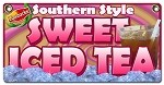 Fresh Brewed Southern Style Sweet Iced Tea (lipsmackn)