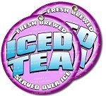 Iced Tea seved over ice