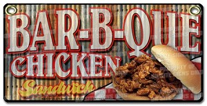 Bar-b-que Chicken  Sandwich