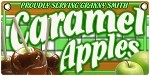 Caramel Apples Granny Smith