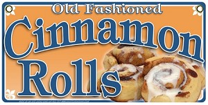 Cinnamon Rolls old fashioned