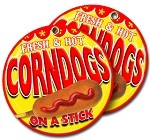 Corn Dogs fresh and hot