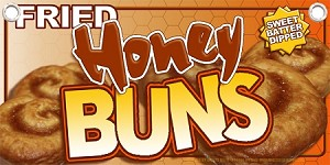 Deep Fried Honey Buns
