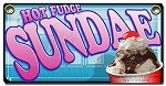 Hot Fudge Ice Cream Sundae