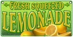 Lemonade  yellow letters