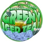 Green Tea  fresh brewed