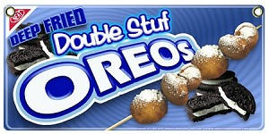 Deep Fried Double Stuff Oreos