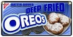 Deep Fried  Oreos  six in a boat