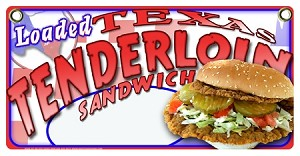 Tenderloin Sandwich loaded Price Bubble